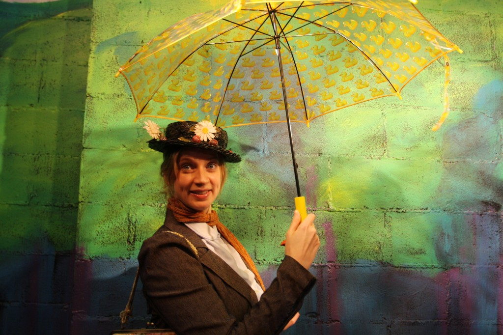 "Catherine Mueller as Kim Smith in ""Mary Poppins: A Show About Mary Poppins"""