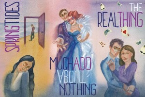 Boomerang Theatre Company presents Spring Tides, Much Ado About Nothing, and The Real Thing