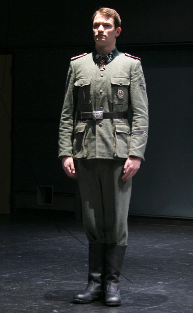 Soldier by Jonathan Draxton, photo by Kenna Draxton