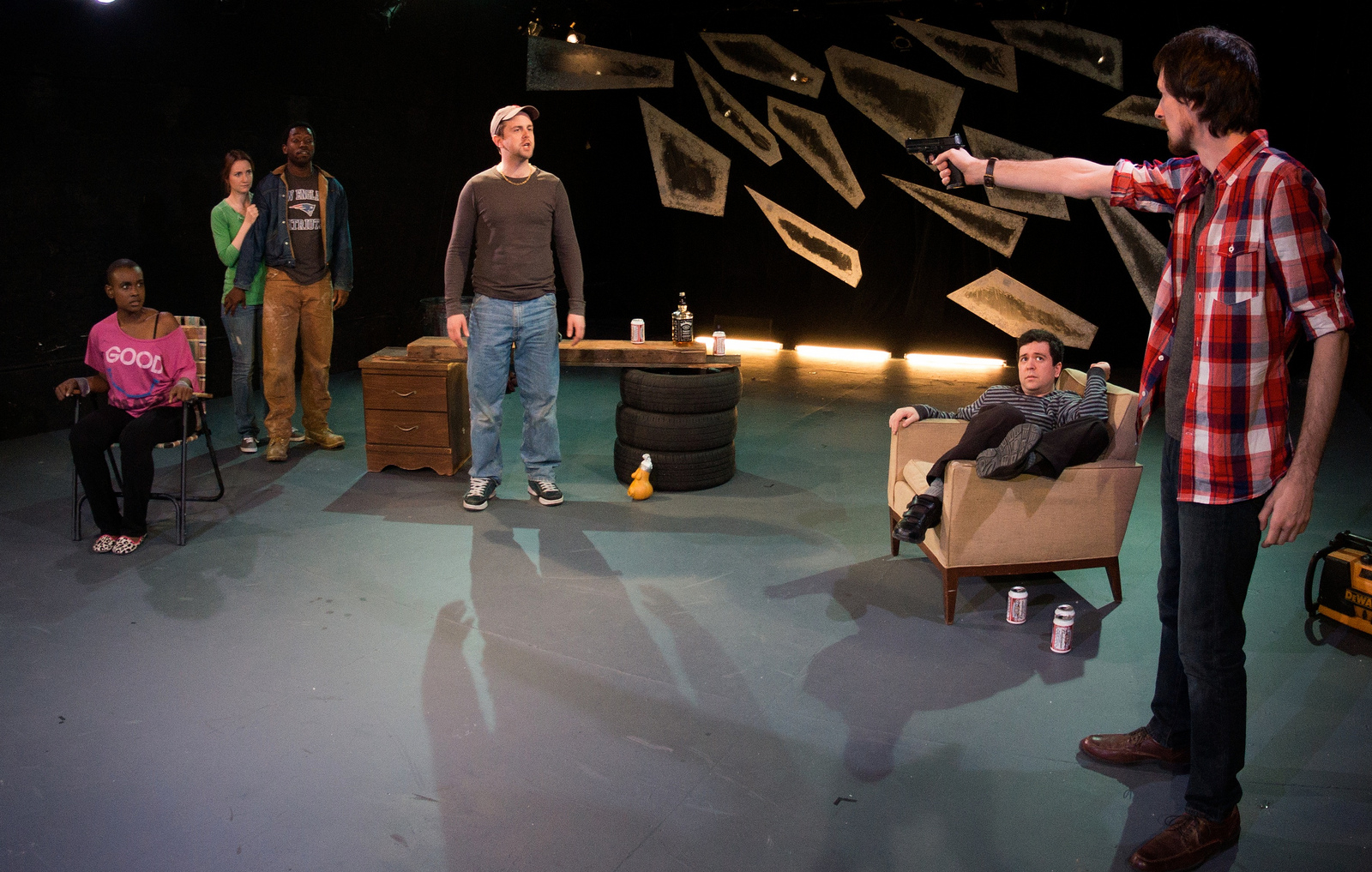"Flux Theatre Ensemble presents ""Honey Fist,"" photo by Ken Glickfeld"