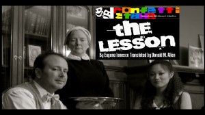 "Confetti Stage presents Eugene Ionesco's ""The Lesson"""