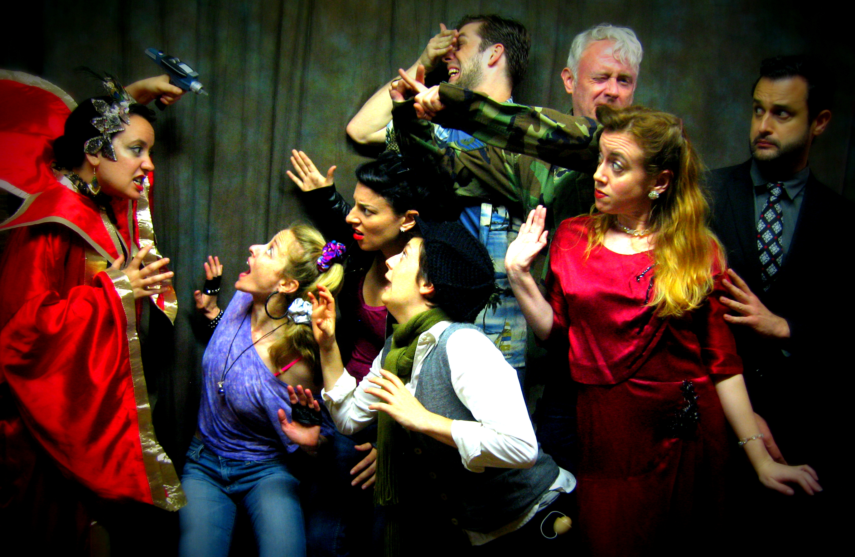 "Dysfunctional Theatre Company presents ""Final Defenders,"" photo by Justin Plowman"