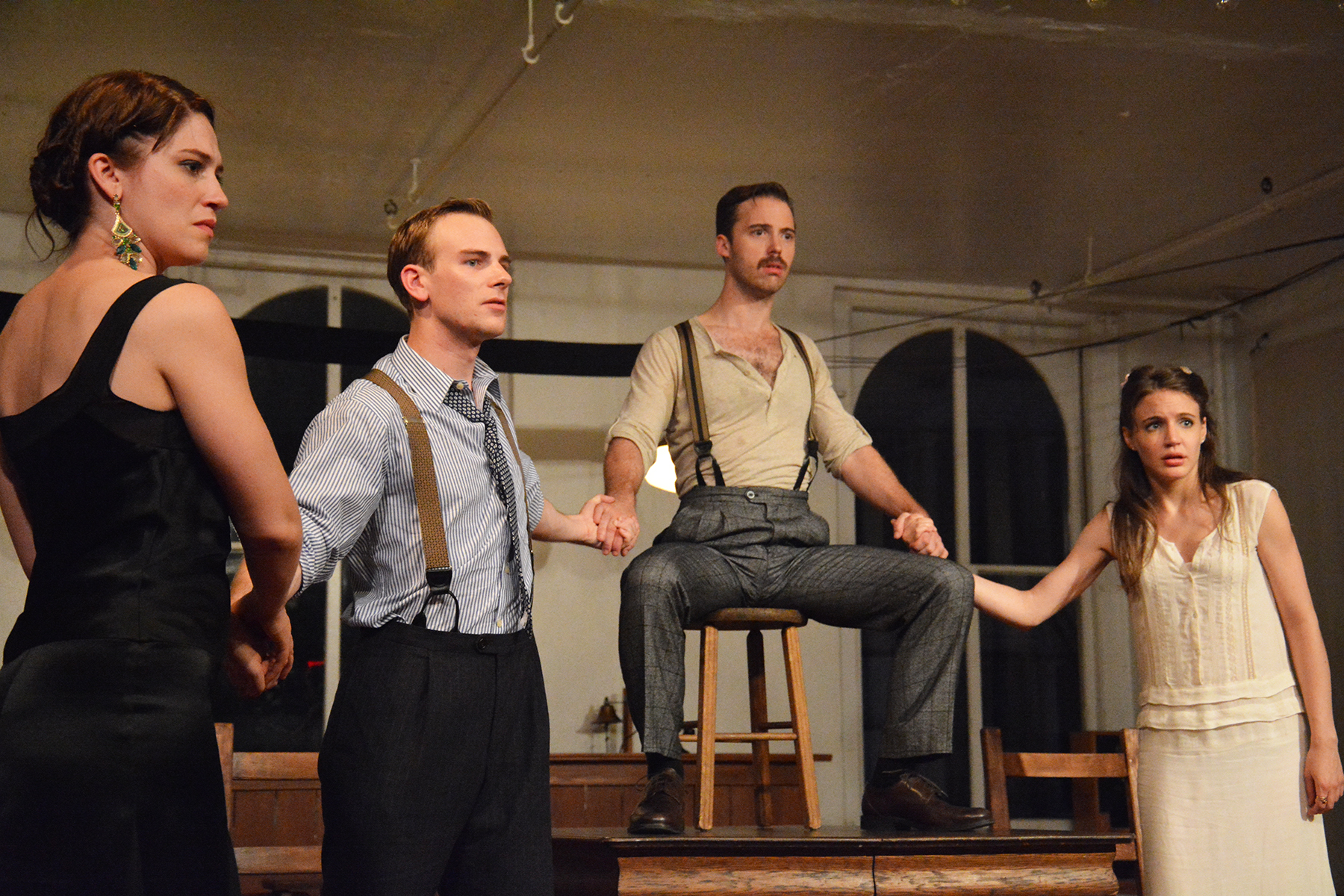"M-34 presents ""The Importance of Being Ernest Hemingway"" at The Access Theater"