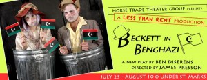 "Less Than Rent presents ""Beckett in Benghazi"" by Ben Diserens"