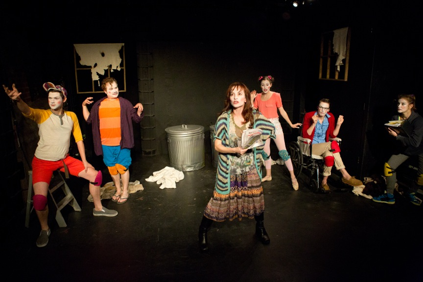 "Less Than Rent presents ""Beckett in Benghazi"" by Ben Diserens, photo by Hunter Canning"