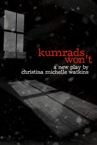 """kumrads won't,"" part of the 2013 New York International Fringe Festival, directed by Kristin McCarthy Parker"