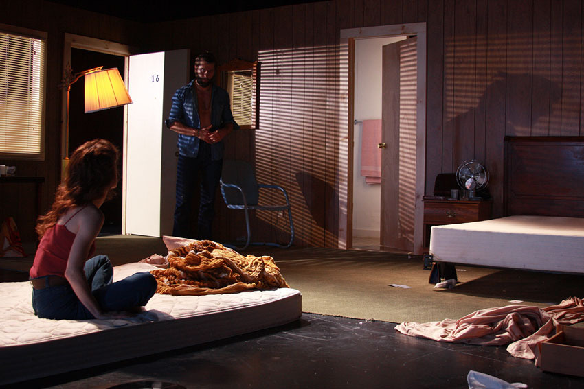 "The Mad Ones ""Untitled Biopic Project,"" lighting design by Mike Inwood"