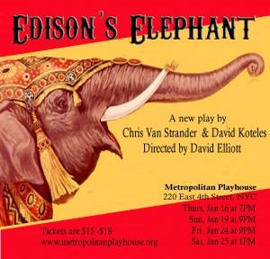 """Edison's Elephant,"" by Chris Van Strander and David Koteles"