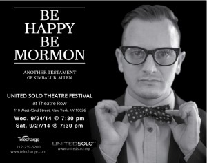 Kimball B. Allen's Be Happy Be Mormon