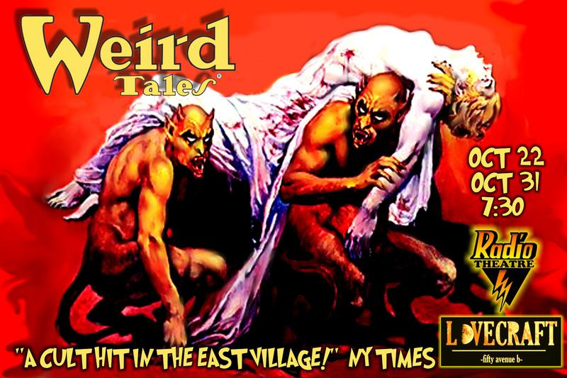 RadioTheatre presents Weird Tales at Lovecraft Bar in NYC