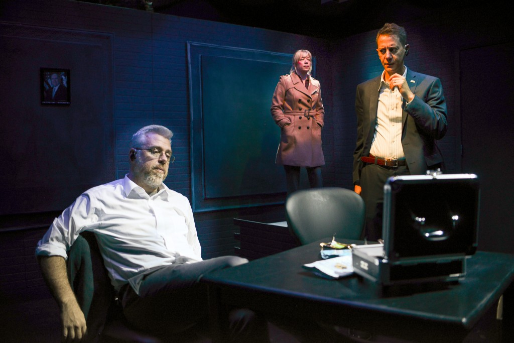 Asymmetric by Mac Rogers at 59E59, directed by Jordana Williams, photo by Deborah Alexander