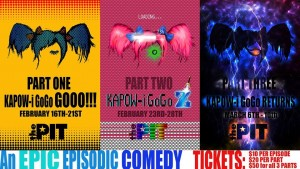 The PIT presents Kapow-i GoGo, written by Matt Cox