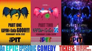 The PIT presents Kapow-i GoGo, written by Matt Cox