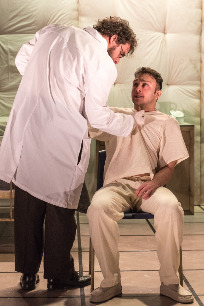 No Win Productions presents Woyzeck, FJF at The New Ohio, photo by Russ Rowland