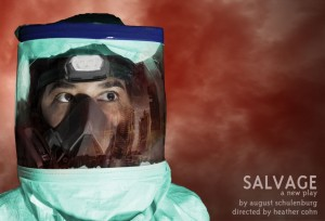 Flux Theatre Ensemble presents Salvage, written by August Schulenburg and directed by Heather Cohn