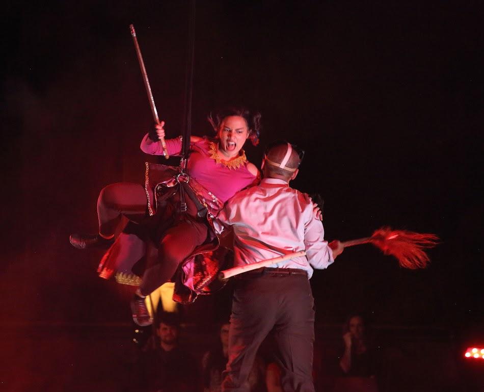 Firebone Theatre presents Red Flamboyant, written by Don Nguyen, photo by Godwell Chan
