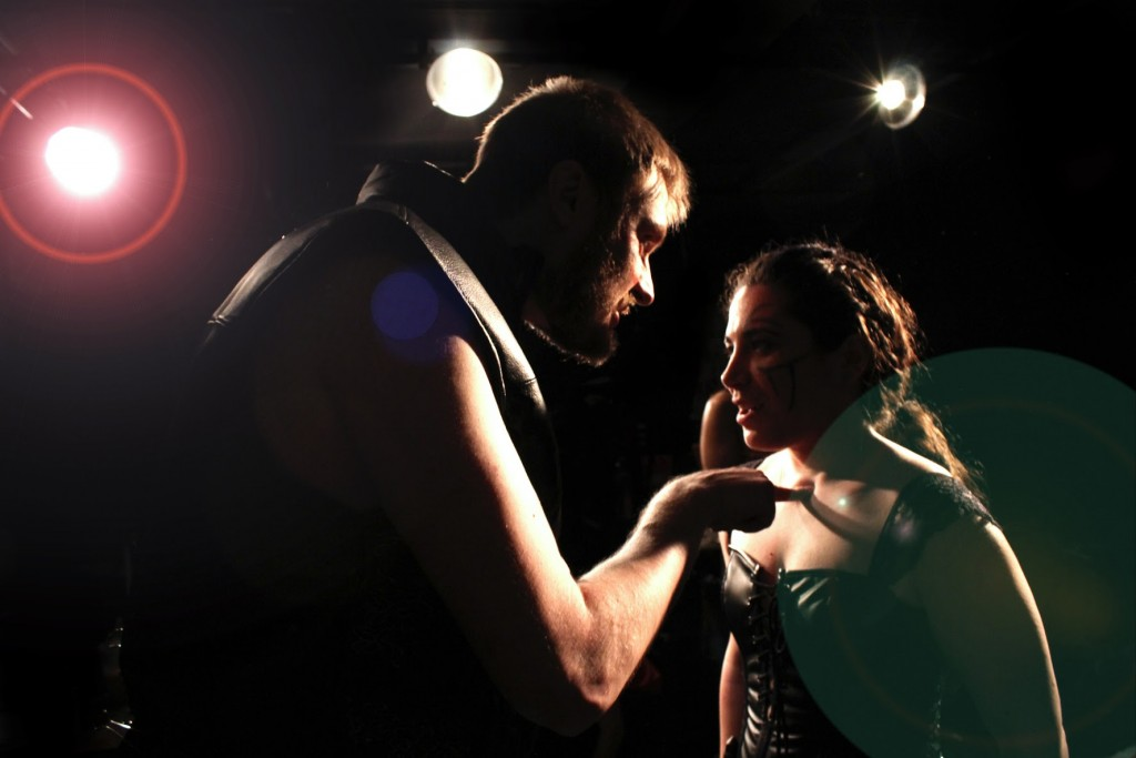What Dreams May Co and Queens Shakespeare present William Shakespeare's Julius Caesar, photo by Joseph Sebring