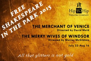 Hip to Hip Theatre Company presents Free Shakespeare in the Park 2015 in Queens