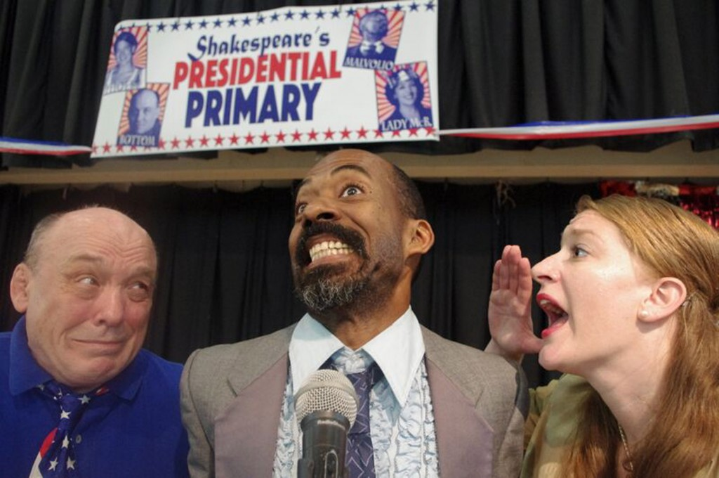 Pulse Ensemble Theatre presents Harlem Summer, Shakespeare's Presidential Primary, written and directed by Alexa Kelly