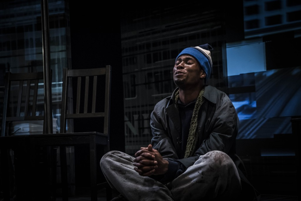 Freight: The Five Incarnations of Abel Green, written by Howard L. Craft, directed by Joseph Megel, and featuring J. Alphonse Nicholson, photo by Dennis Cahlo