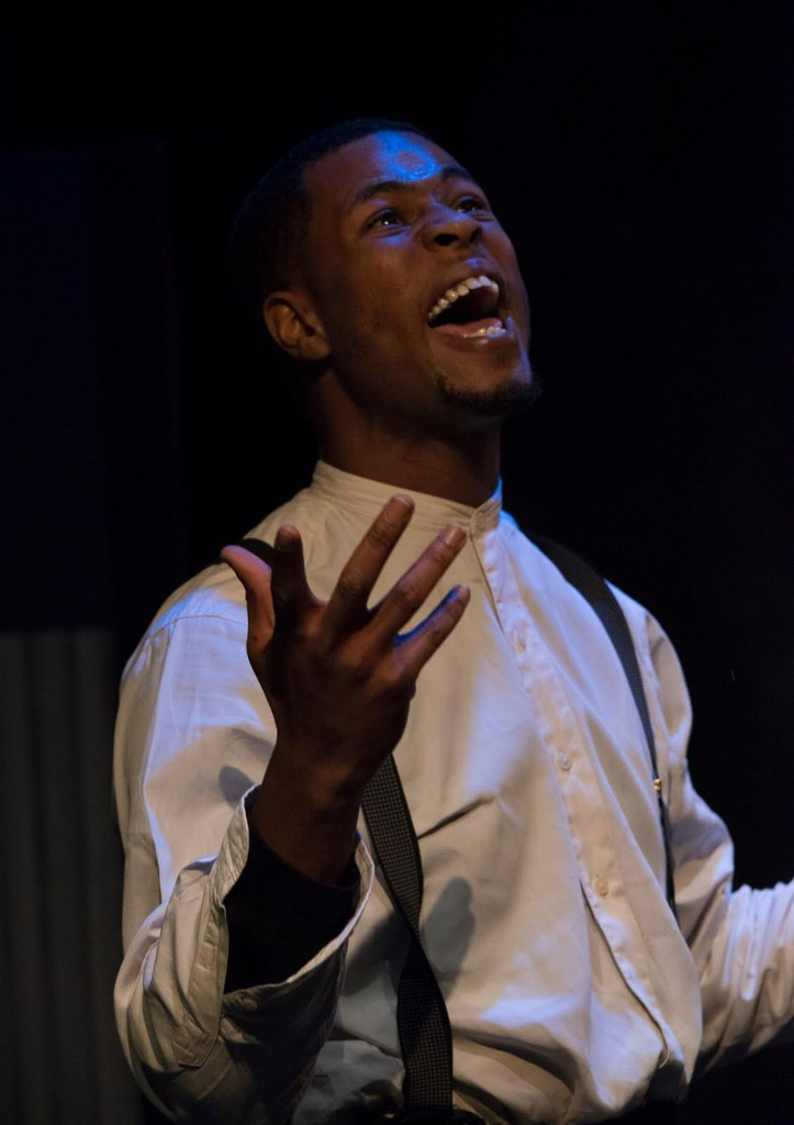 Freight: The Five Incarnations of Abel Green, written by Howard L. Craft, directed by Joseph Megel, and featuring J. Alphonse Nicholson, photo by Nick Graetz