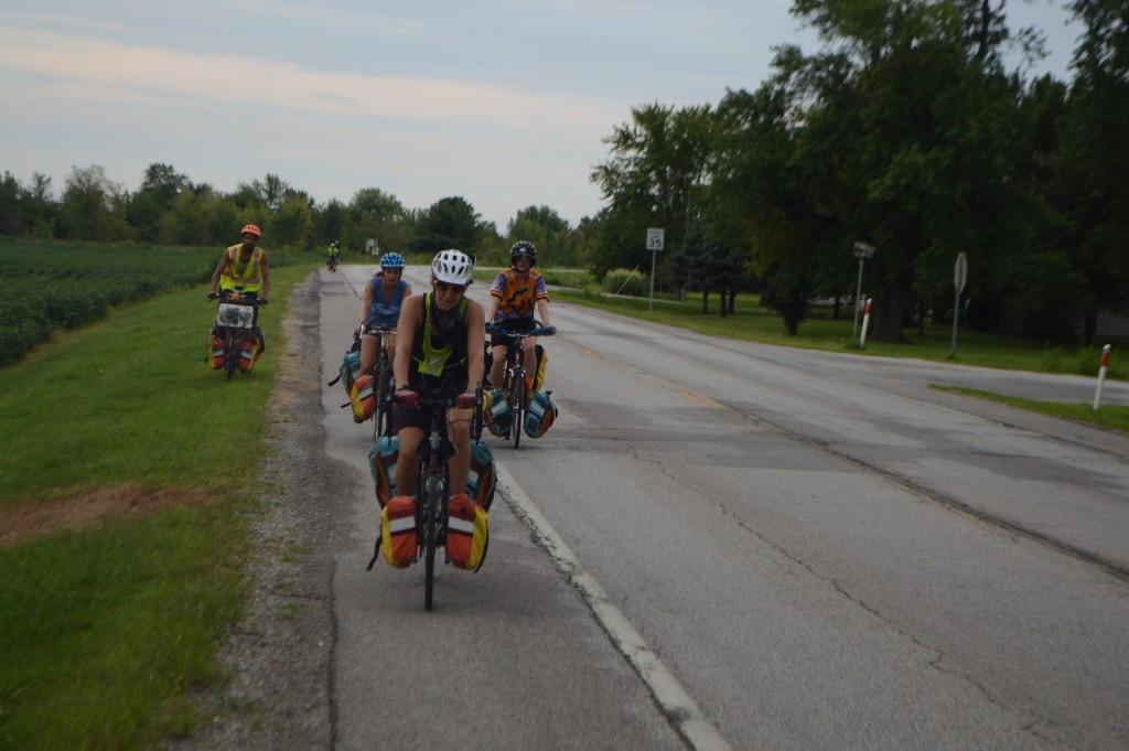 Agile Rascal Traveling Bike Theatre on the road