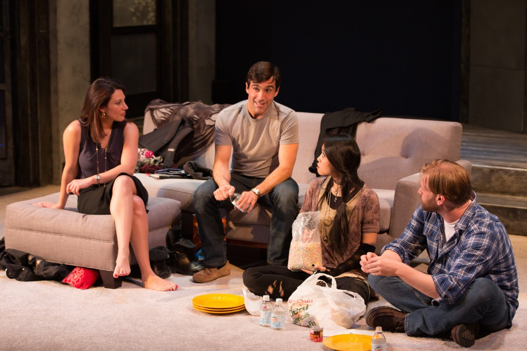 InProximity Theatre presents Promising, written by Michelle Elliott, photo by Michael Cinquino