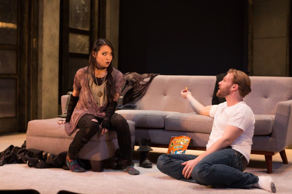 InProximity Theatre presents Promising, written by Michelle Elliott, photo by Michael Cinquino