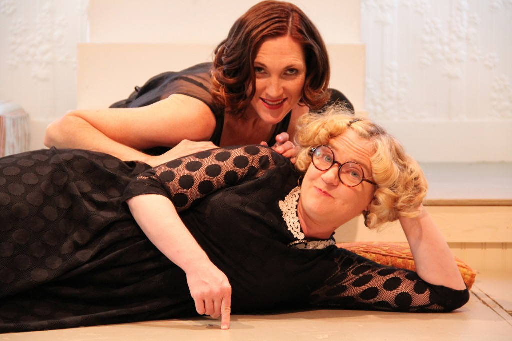 Margi Sharp Douglas and Rachel Murdy of THE MILLAY SISTERS, presented by Vanderbilt Republic