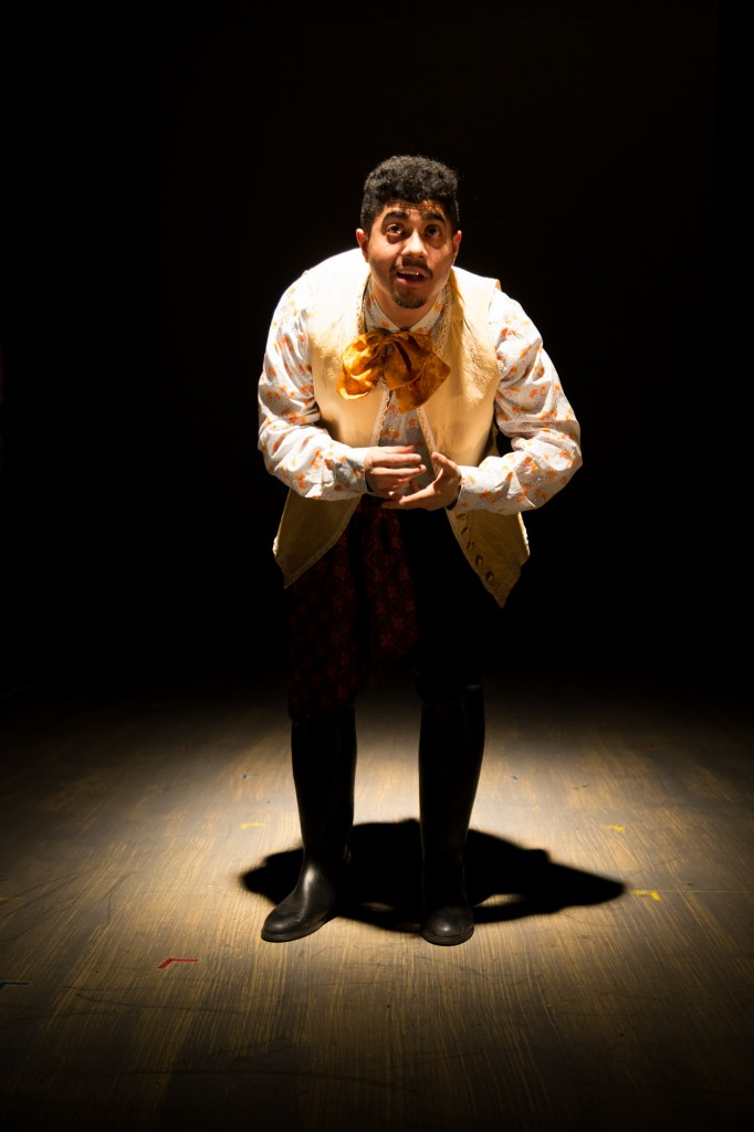 The Dreamscape Theatre presents The Improbable Rise, Fall, and Rise of John Law, written by Matt Herzfeld, directed by Brad Raimondo, at IRT Theater, photo by Sergio Pasquariello