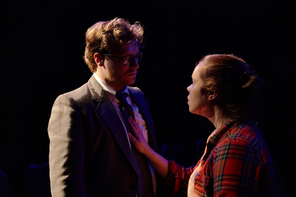 Theater Reconstruction Ensemble presents Rhinbecca, NY at The Brick, photo by Suzi Sadler