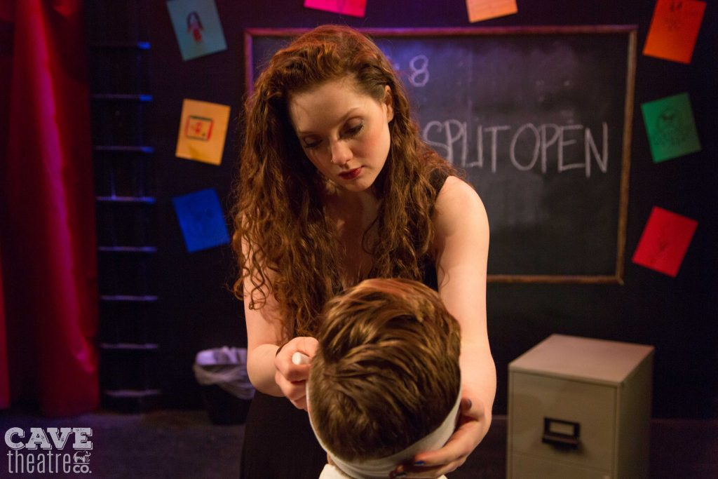 Cave Theatre Company presents Rajiv Joseph's GRUESOME PLAYGROUND INJURIES, photo by Lauren Morrison Photography