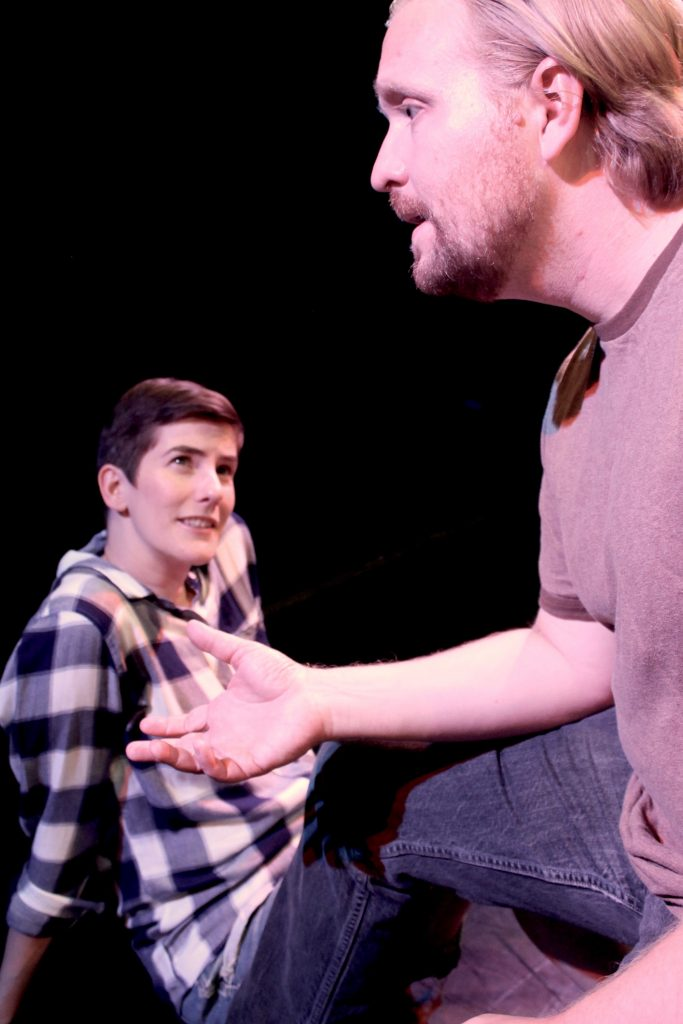 Theater Accident presents Matthew Freeman's THAT WHICH ISN'T at The Brick, directed by Kyle Ancowitz, photo by Kyle Ancowitz