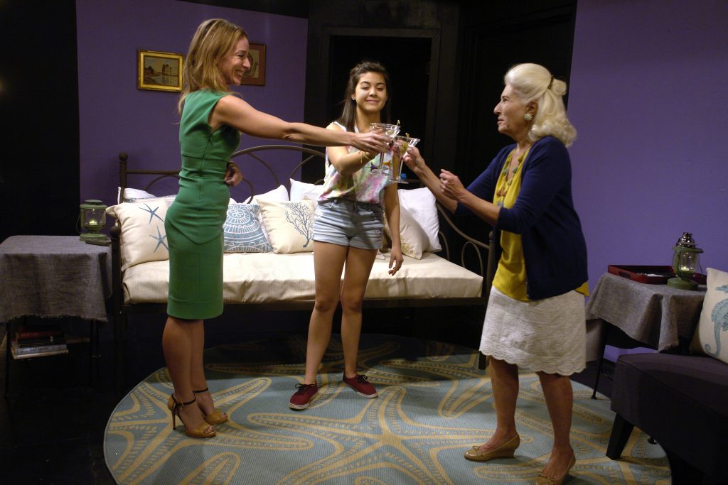 Tongue in Cheek Theater presents Rapture Blister Burn by Gina Gionfriddo, photo by Peter Welch