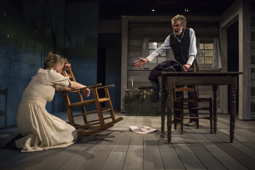Working Barn Productions presents Eugene O'Neill's ANNA CHRISTIE, directed by Peter Richards, photo by Maria Baranova