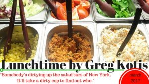 Theater of the Apes presents LUNCHTIME, written and directed by Greg Kotis