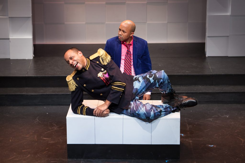 New York Shakespeare Exchange presents MUCH ADO ABOUT NOTHING, directed by Ross Williams, photo by Martin Harris
