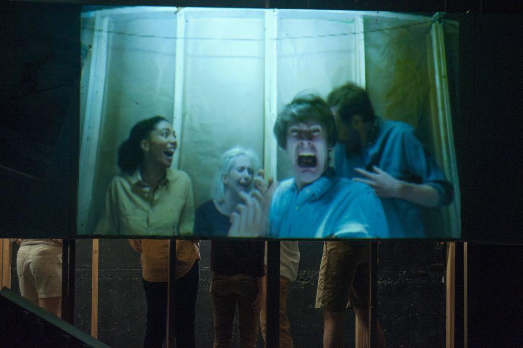 Piehole presents SKI END, directed by Tara Ahmadinejad, photo by Matthew Dunivan