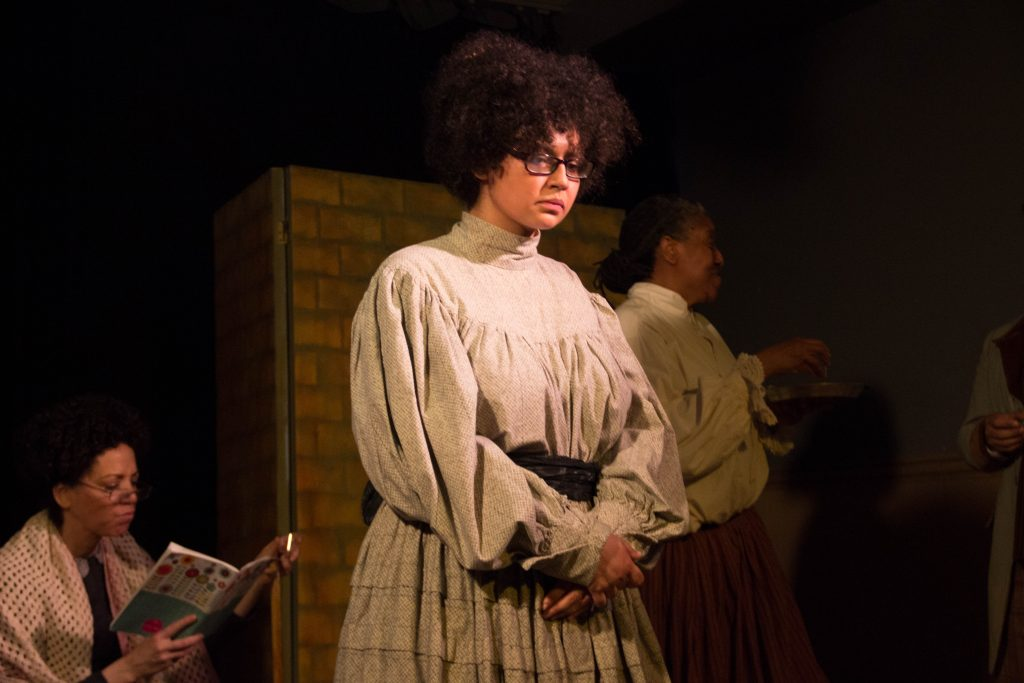 """The Eagle Project presents UNCLE ABRAM, a Reconstructed Uncle Vanya, adapted and directed by Ryan Victor """"Little Eagle"""" Pierce, photo by Ashley Marinaccio"""