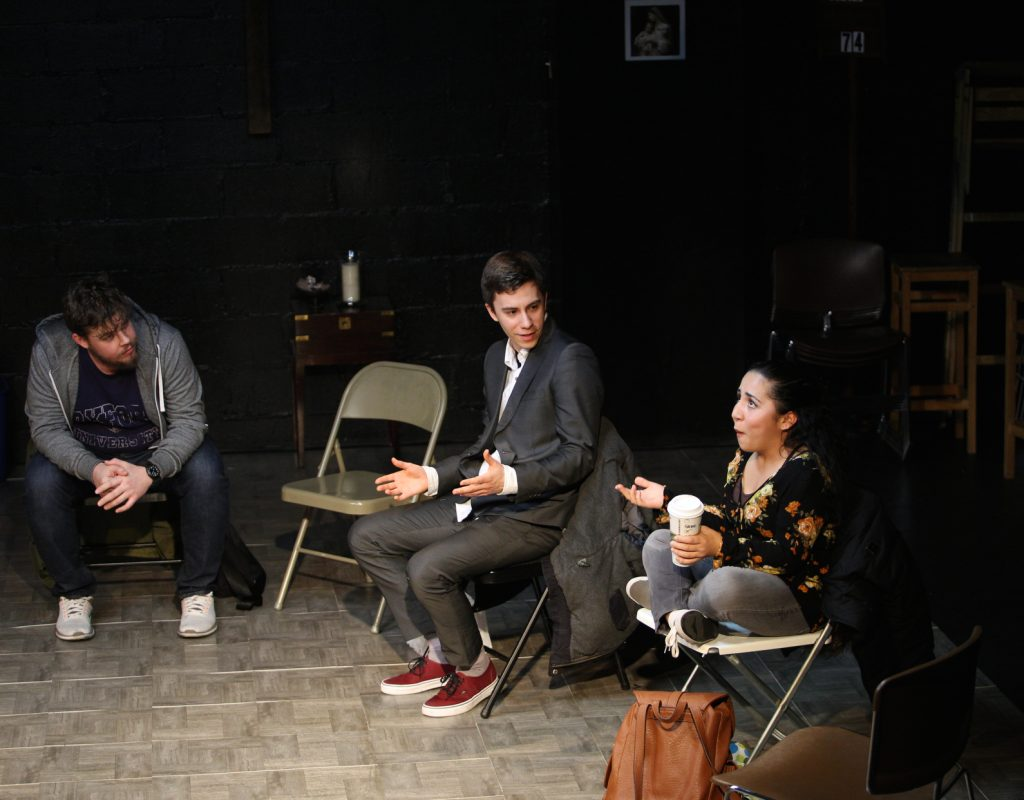 Stable Cable Lab Co presents THE CONSPIRACISTS, written and directed by Max Baker, photo by Alex Wroblewski