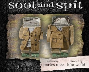 Our Voices Theater presents SOOT AND SPIT, written by Charles Mee and directed by Kim Weild