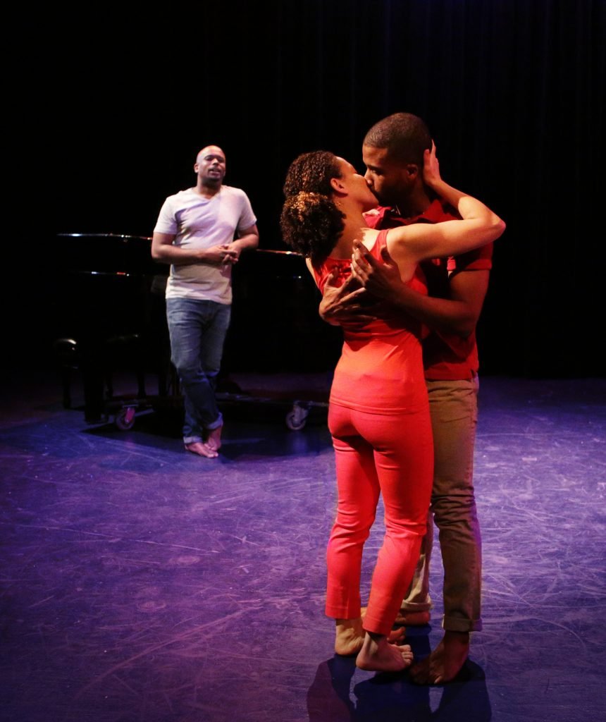 THE UNWRITTEN LAW, created and performed by Chesney Snow with direction and choreography by Rebecca Arends, at Dixon Place, photo by Peter Yesley