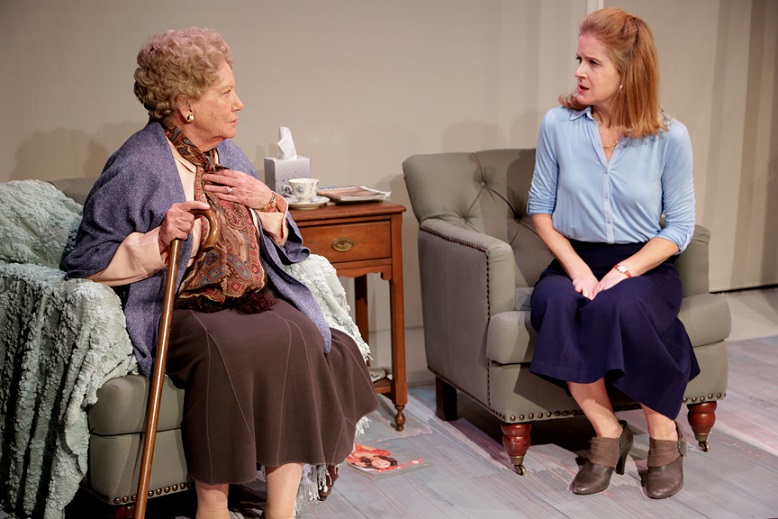 ROSEMARY AND TIME at Paradise Factory, written by Jennifer Fell Hayes, directed by Kathy Gail MacGowan, photo by Gerry Goodstein