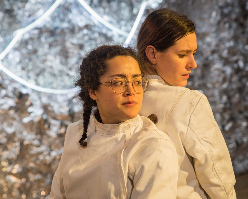 The Hearth presents ATHENA, written by Gracie Gardner, directed by Emma Miller, at JACK, photo by Mike Edmonds