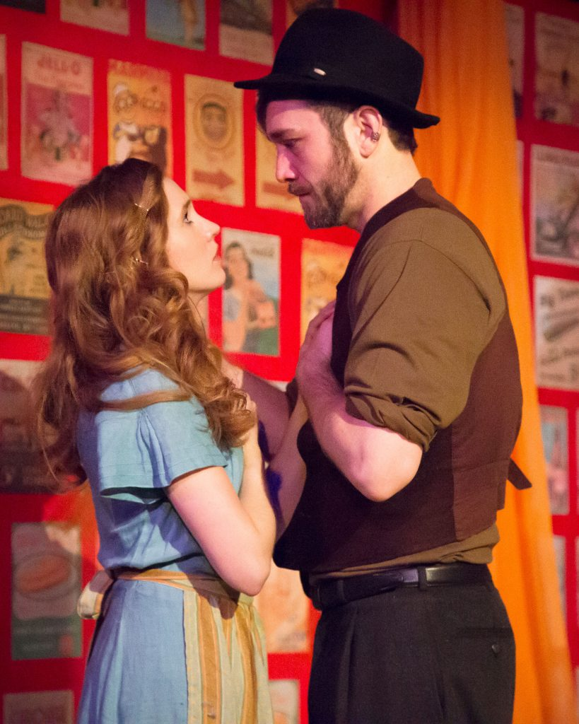 Attic Theater Company presents JERICHO, written by Michael Weller, directed by Laura Braza, photo by Dustin Moore