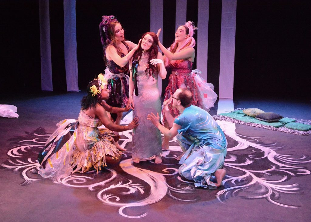 Frog and Peach Theatre Company presents William Shakespeare's A MIDSUMMER NIGHT'S DREAM, directed by Lynnea Benson, photo by Paul Greco