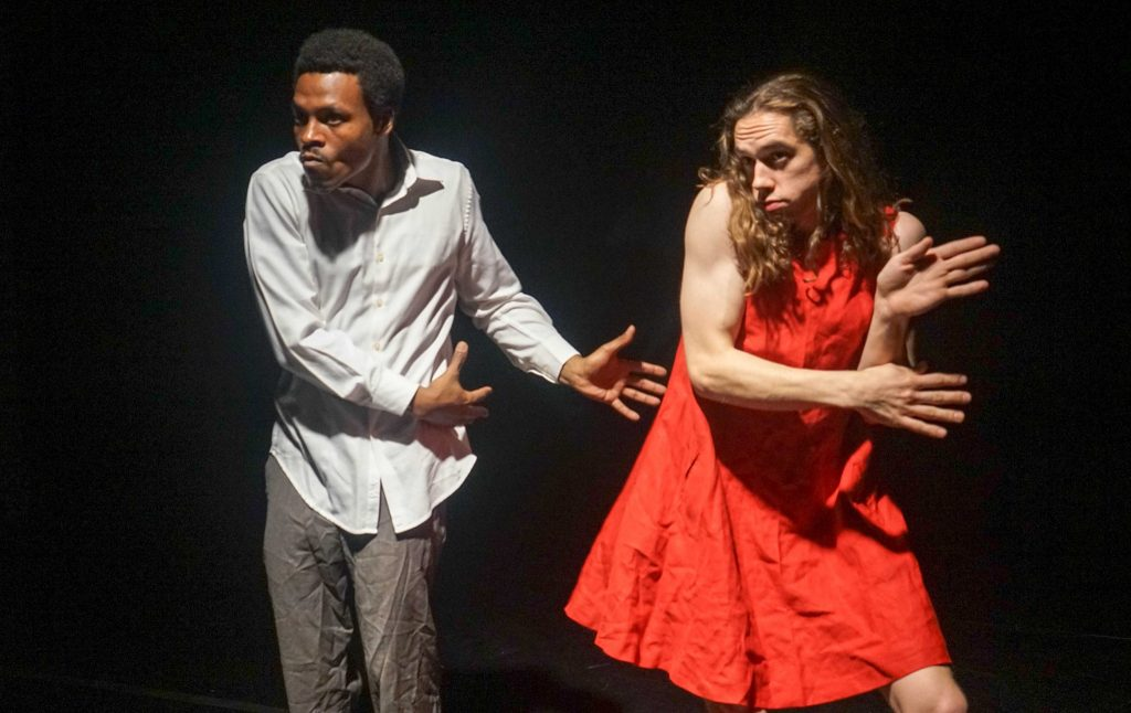 The Tank presents {FLYING} DUTCHMAN, by Theatre of War, text by Amiri Baraka, additional text from Jean Genet, directed by Christopher-Rashee Stevenson