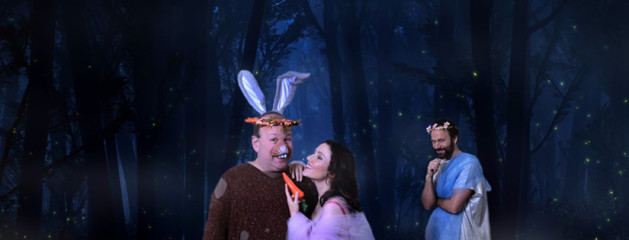 Frog and Peach Theatre Company presents William Shakespeare's A MIDSUMMER NIGHT'S DREAM, directed by Lynnea Benson