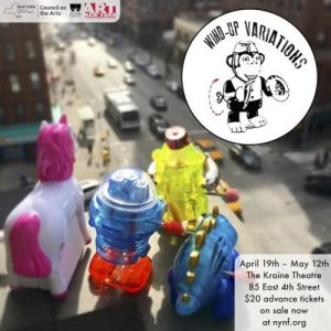 New York Neo-Futurists present WIND-UP VARIATIONS, created, written, and directed by Rob Neill