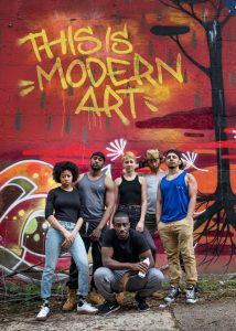 Blessed Unrest presents THIS IS MODERN ART, written by Idris Goodwin and Kevin Coval, directed by Jessica Burr